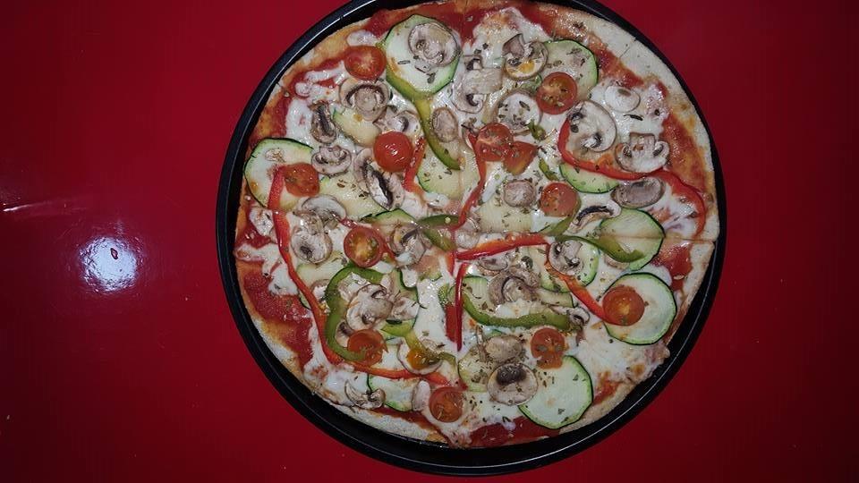 Vegetariana con tomate cherry
